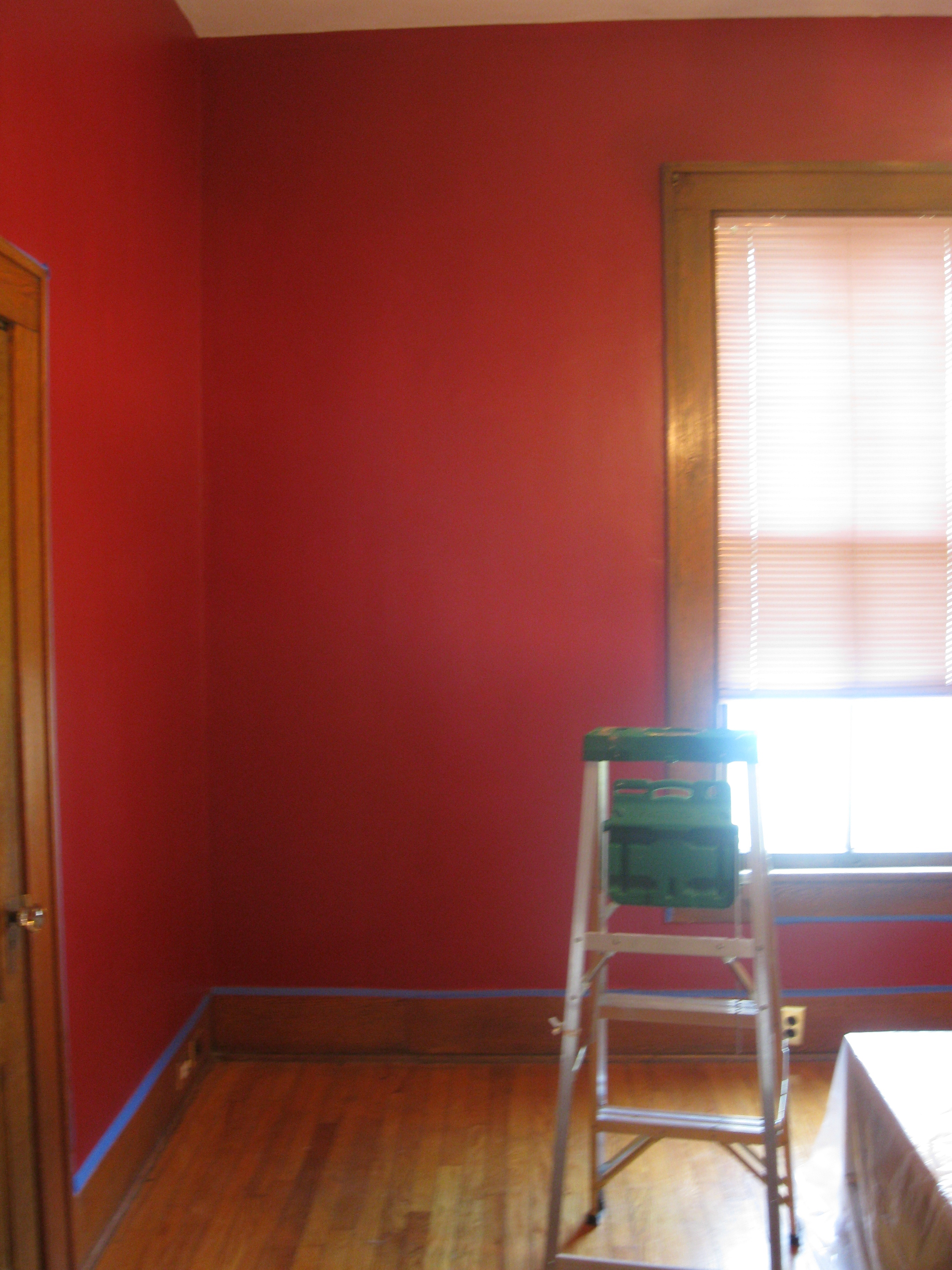 I See A Red Room And I Want It Painted Grey