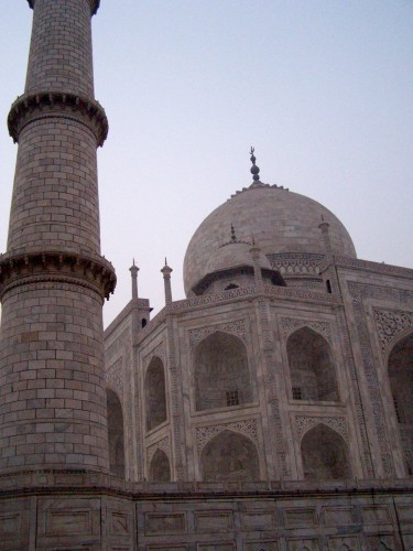Taj Mahal, up close by @themoderngal