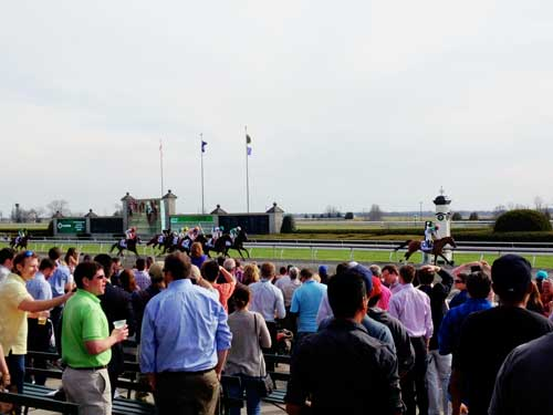 Finish at Keeneland